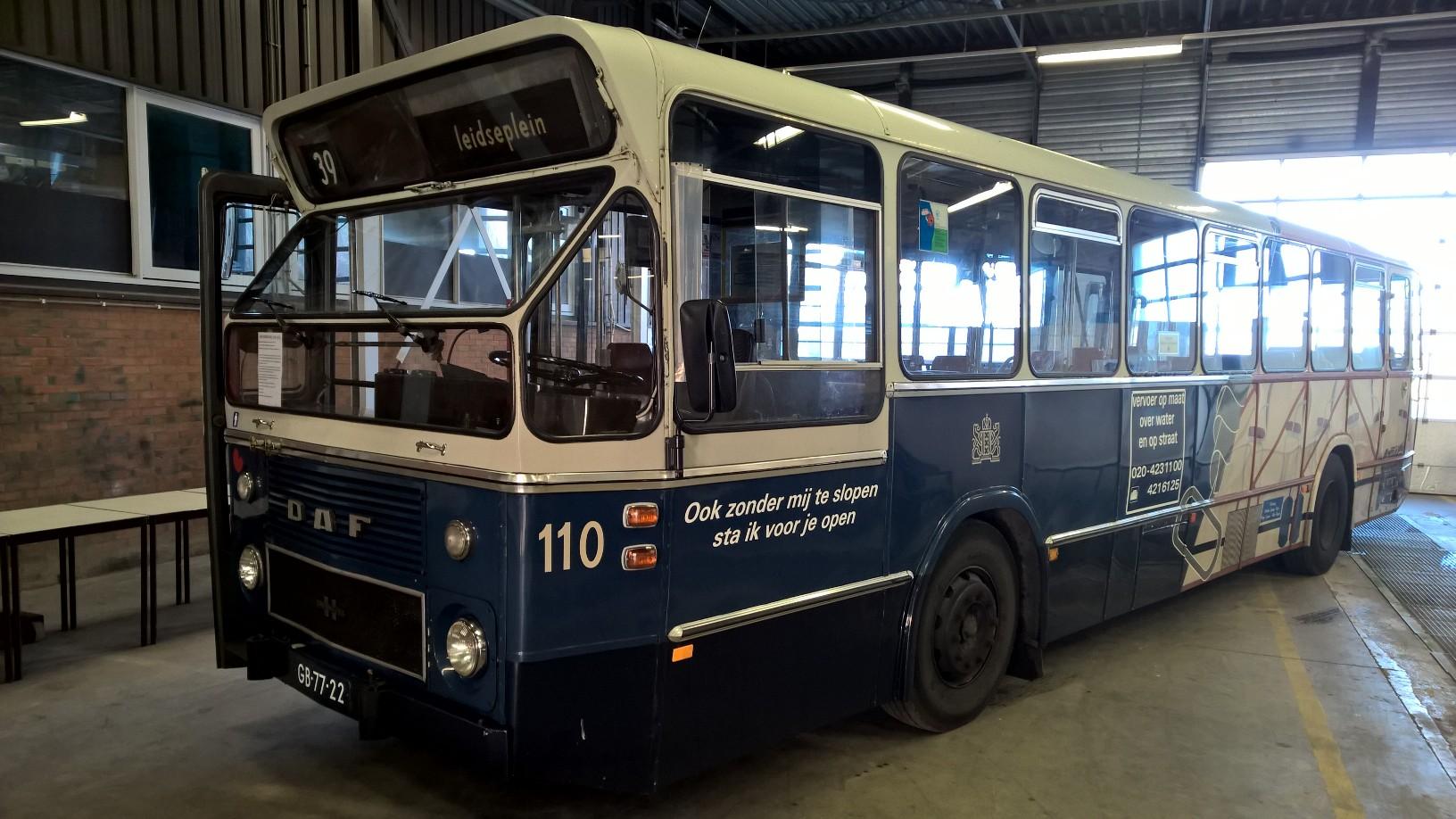 GVB110 terug naar de fabriek